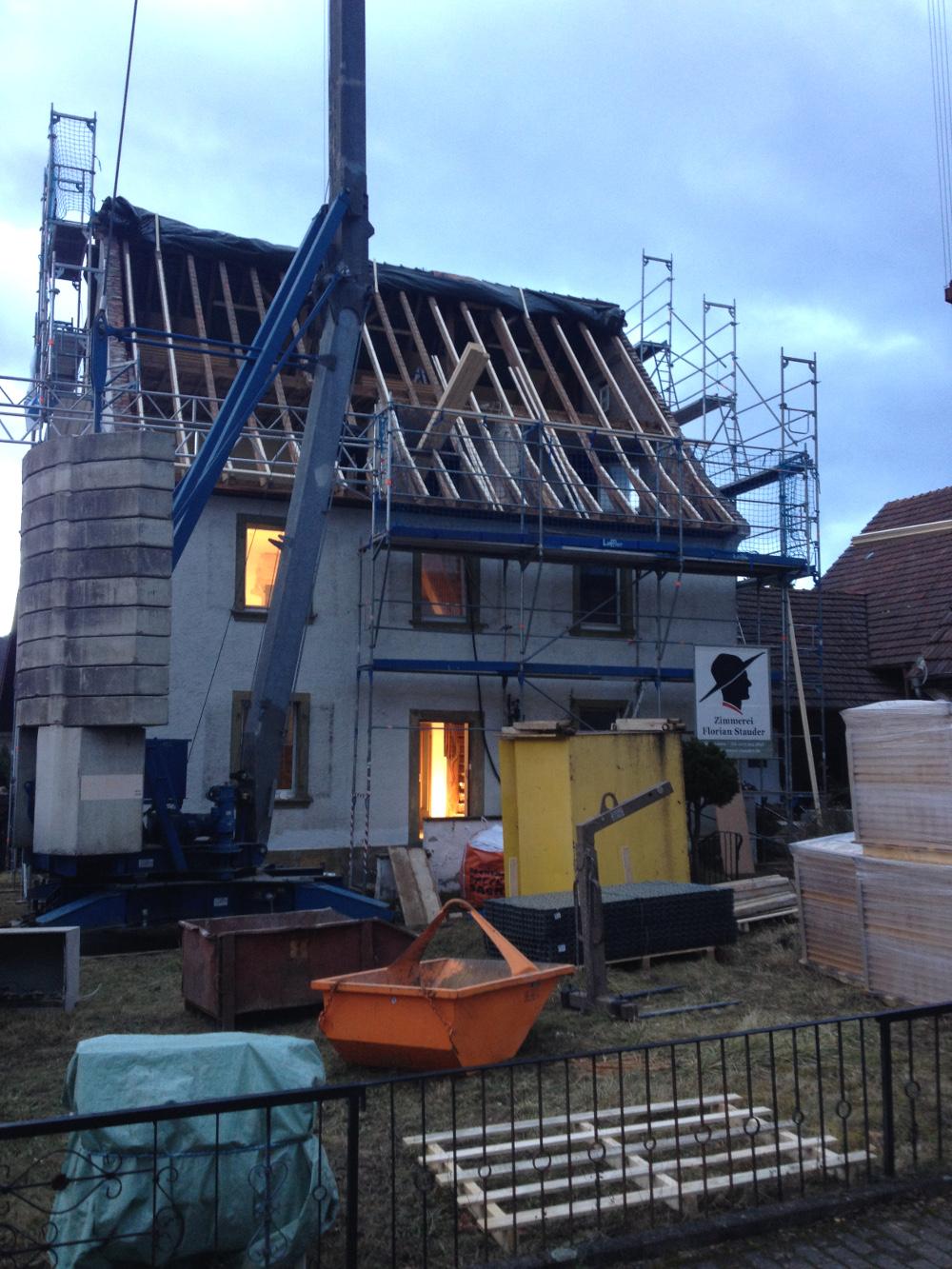 Dachsanierung und Ausbau
