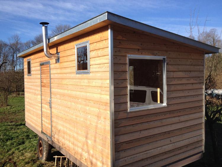 Bauwagen tiny house zimmerei florian stauder - Alter bauwagen als gartenhaus ...